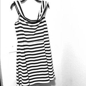 ASOS striped dress // US 14